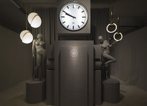Lee Broom Crescent and Ring Light